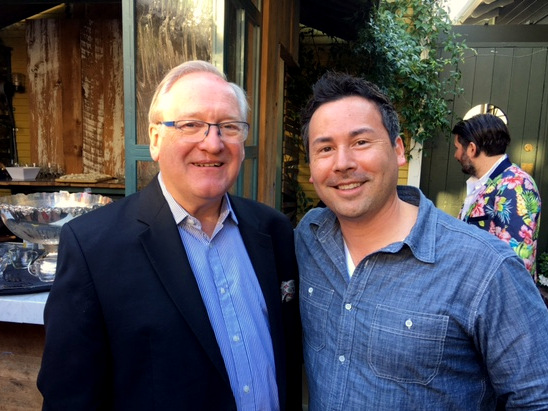 Desmond Payne and Robert Sharp