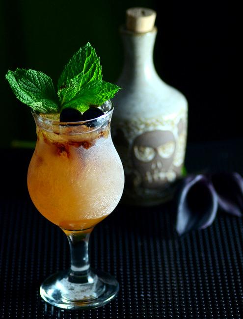 Tiki Death Punch, a tiki cocktail recipe