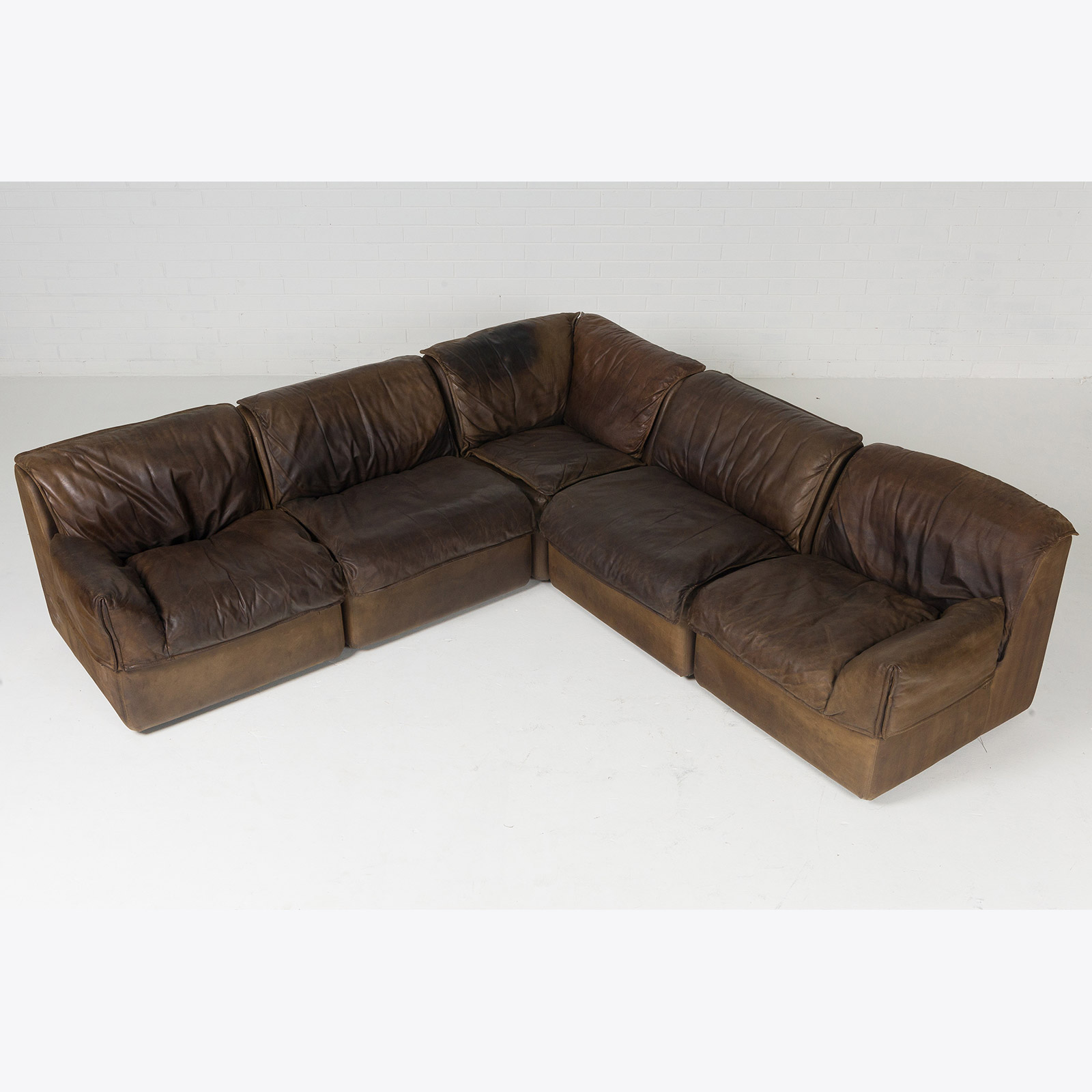 tan leather sofa bed australia corner for 200 pounds modular by cor with five modules in