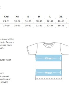 Image result for american apparel  shirt sizing chart also backwoods bones men   camp life midnight edition heavy rh heavycoverinc