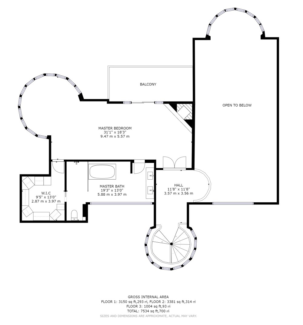 medium resolution of each individual floor delivered in png format as a separate file all floors together delivered in one pdf up to 10 000 square feet floor plan