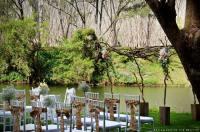 A 'Fairy Light Wonderland' Garden Wedding