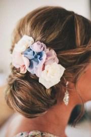 wedding hair ideas with flowers