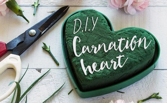 Diy Floral Heart Decor Modern Wedding