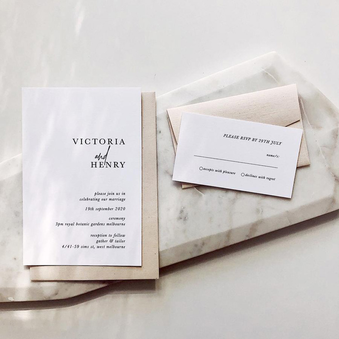 The Dos and Don'ts Of Wedding Invitations - Modern Wedding