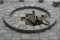 How to build a natural gas or propane outdoor fire pit ...