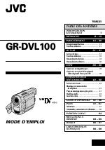 JVC CAMESCOPE GR-DVL100 manuels