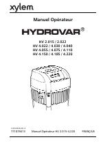 Xylem HYDROVAR HV 4.055 / 4.075 / 4.110 manuels