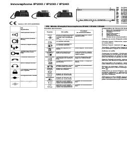 innovaphone IP240 manuels