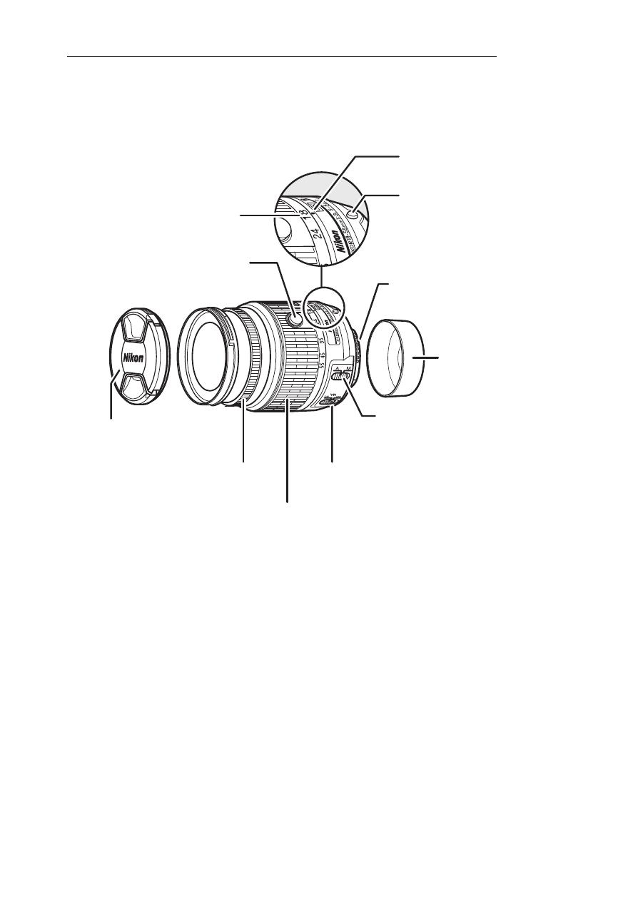 Af-s dx nikkor 18–55 mm f/3.5–5.6g vr ii, Mise au point