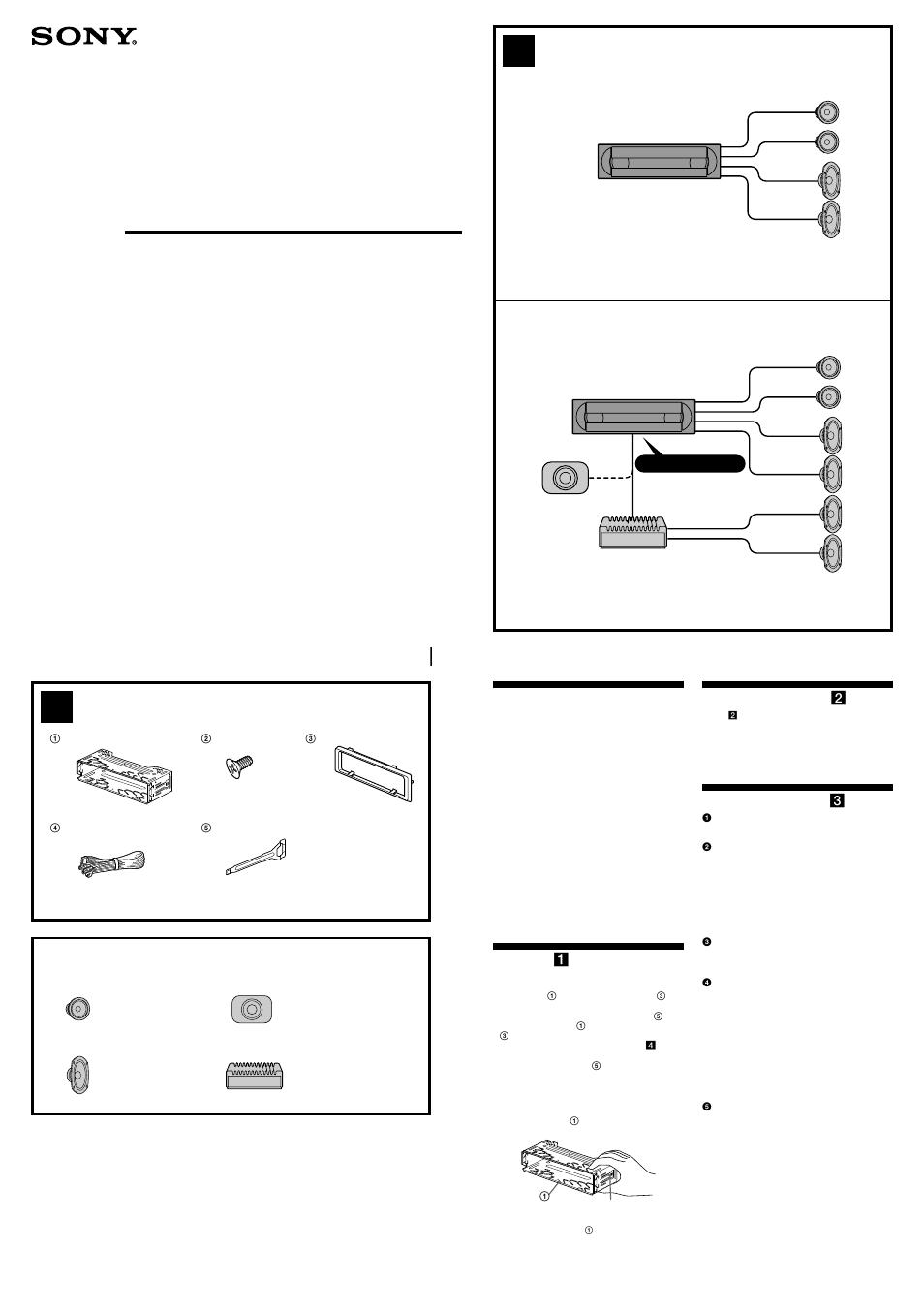 hight resolution of sony cdx r3000 car radio wiring diagram wiring library sony cdx r3000 car radio wiring diagram