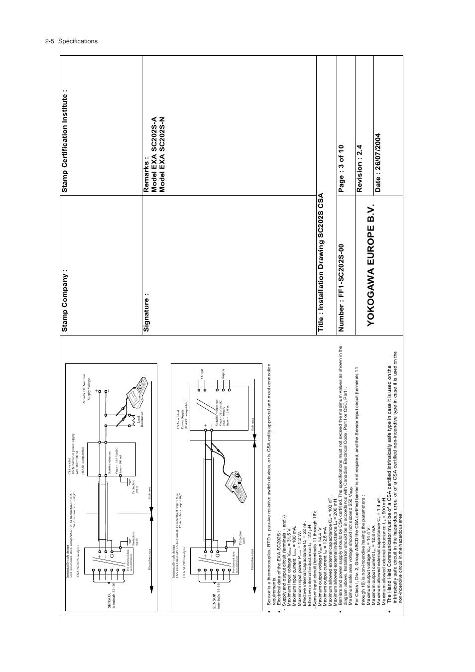 medium resolution of  battery yokogawa europe b v 5 sp cifications yokogawa exa sc202 2 wire on lighting diagrams