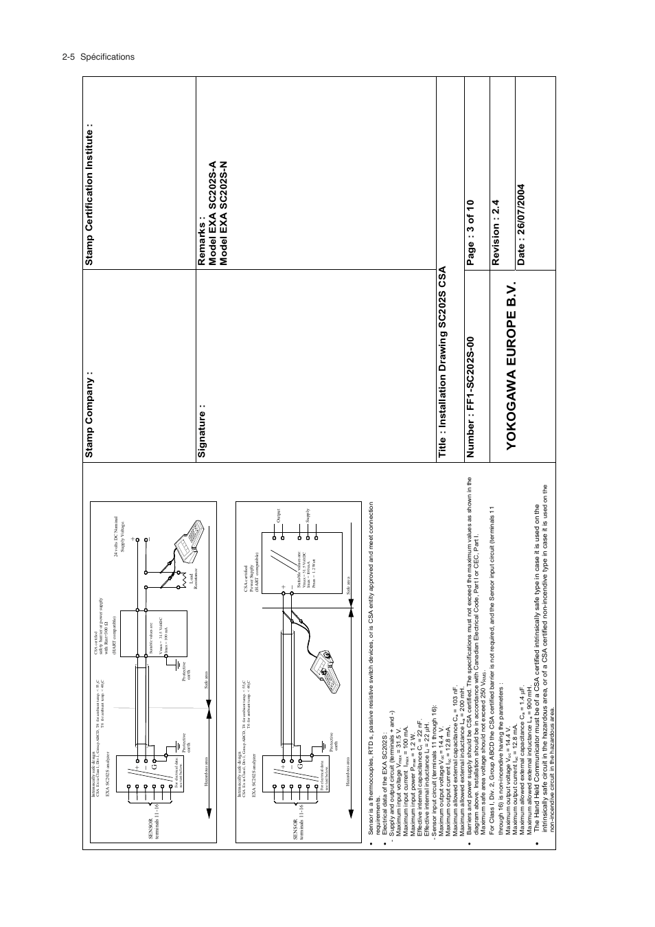 hight resolution of  battery yokogawa europe b v 5 sp cifications yokogawa exa sc202 2 wire on lighting diagrams