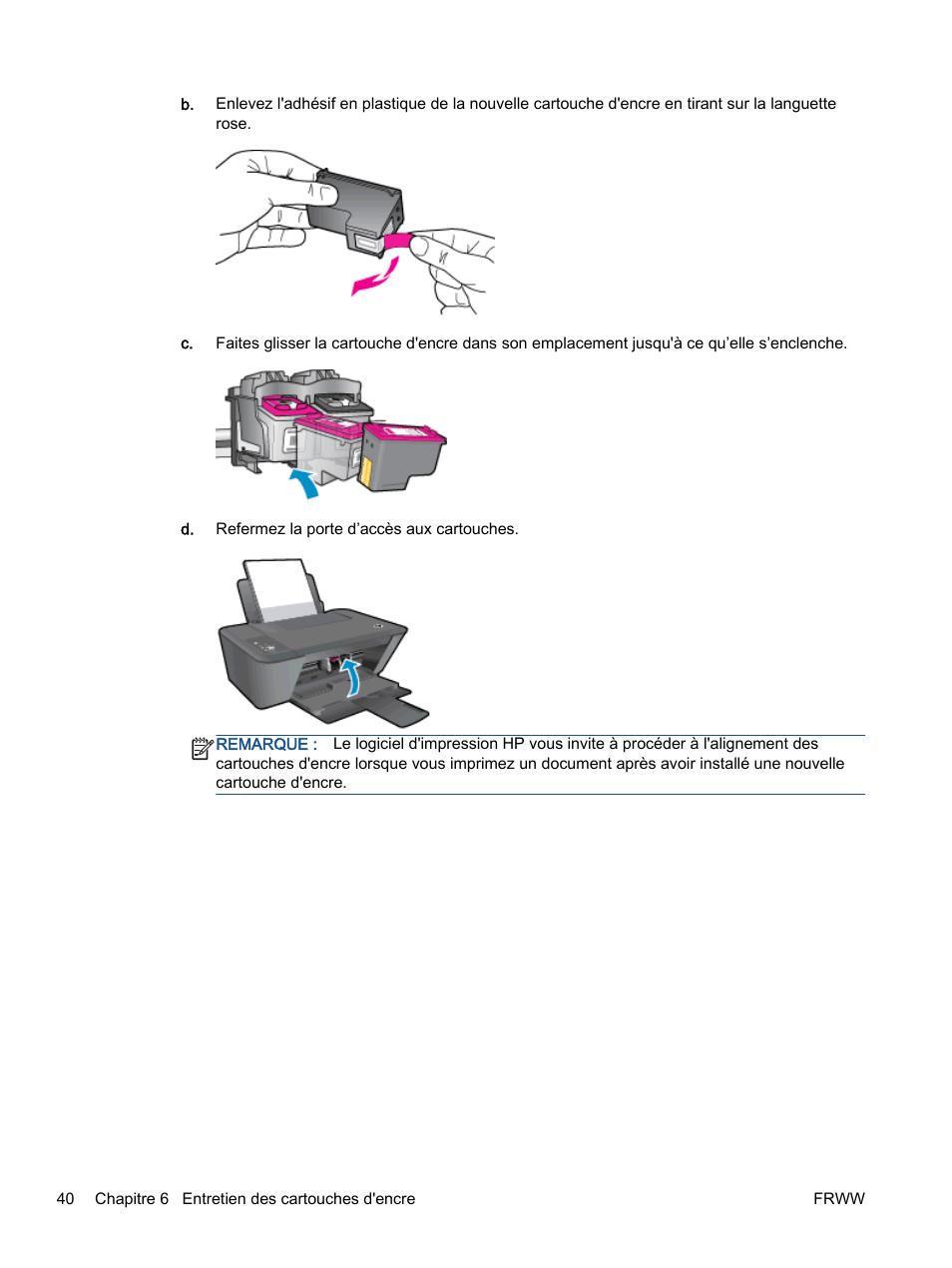 HP Imprimante Tout-en-Un HP Deskjet 1510 Manuel d