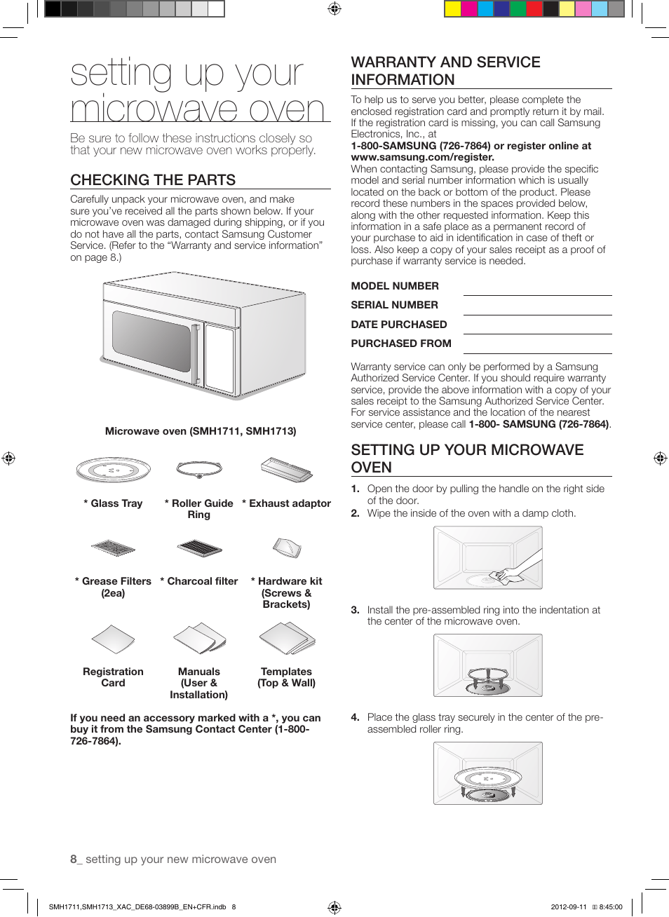 Mode Demploi Four Samsung Smart Oven