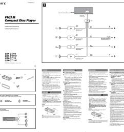 sony cdx gt110 wiring diagram [ 955 x 903 Pixel ]