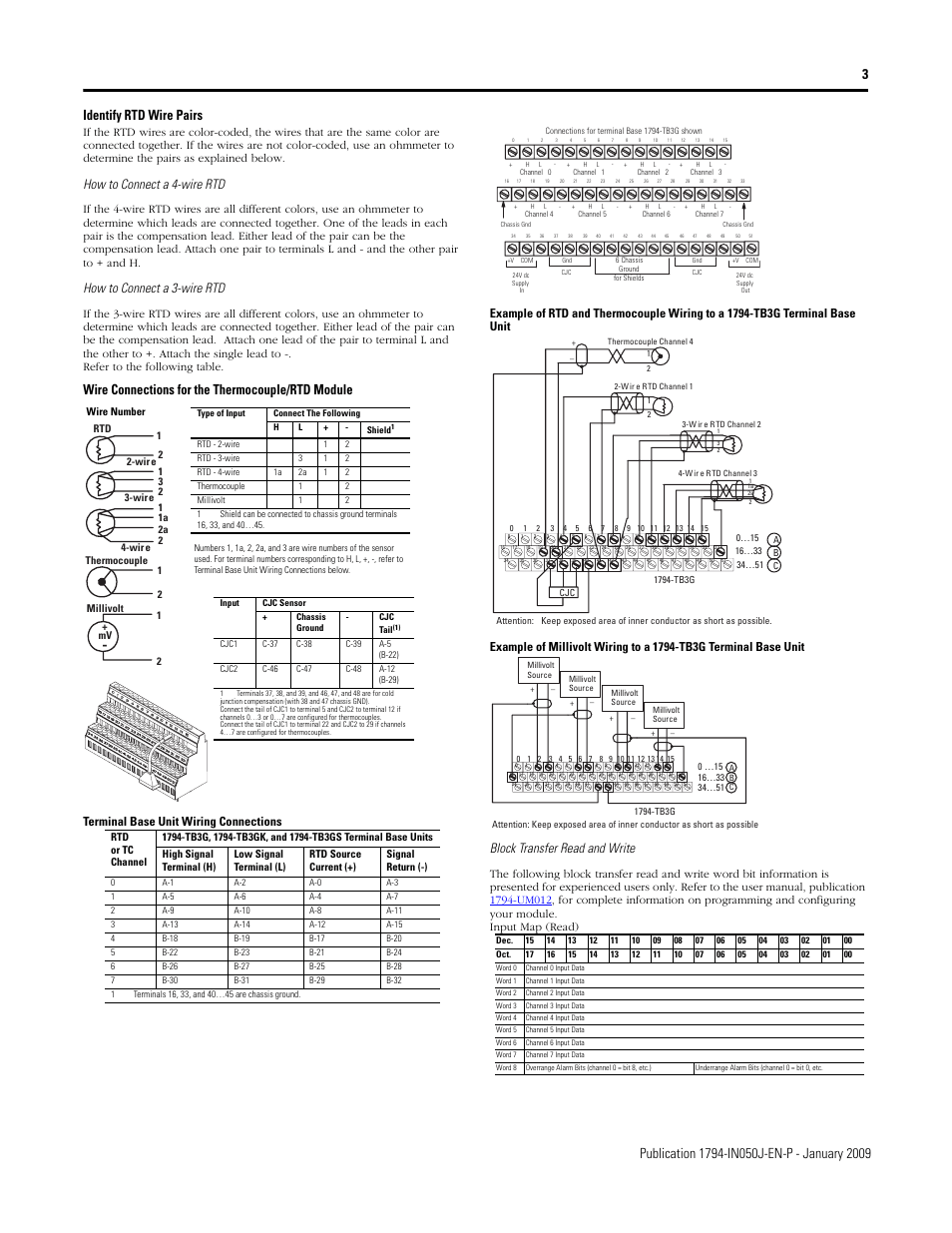 hight resolution of wire connections for the thermocouple rtd module how to connect a 4 wire rtd how to connect a 3 wire rtd rockwell automation 1794 irt8xt b tc mv rtd