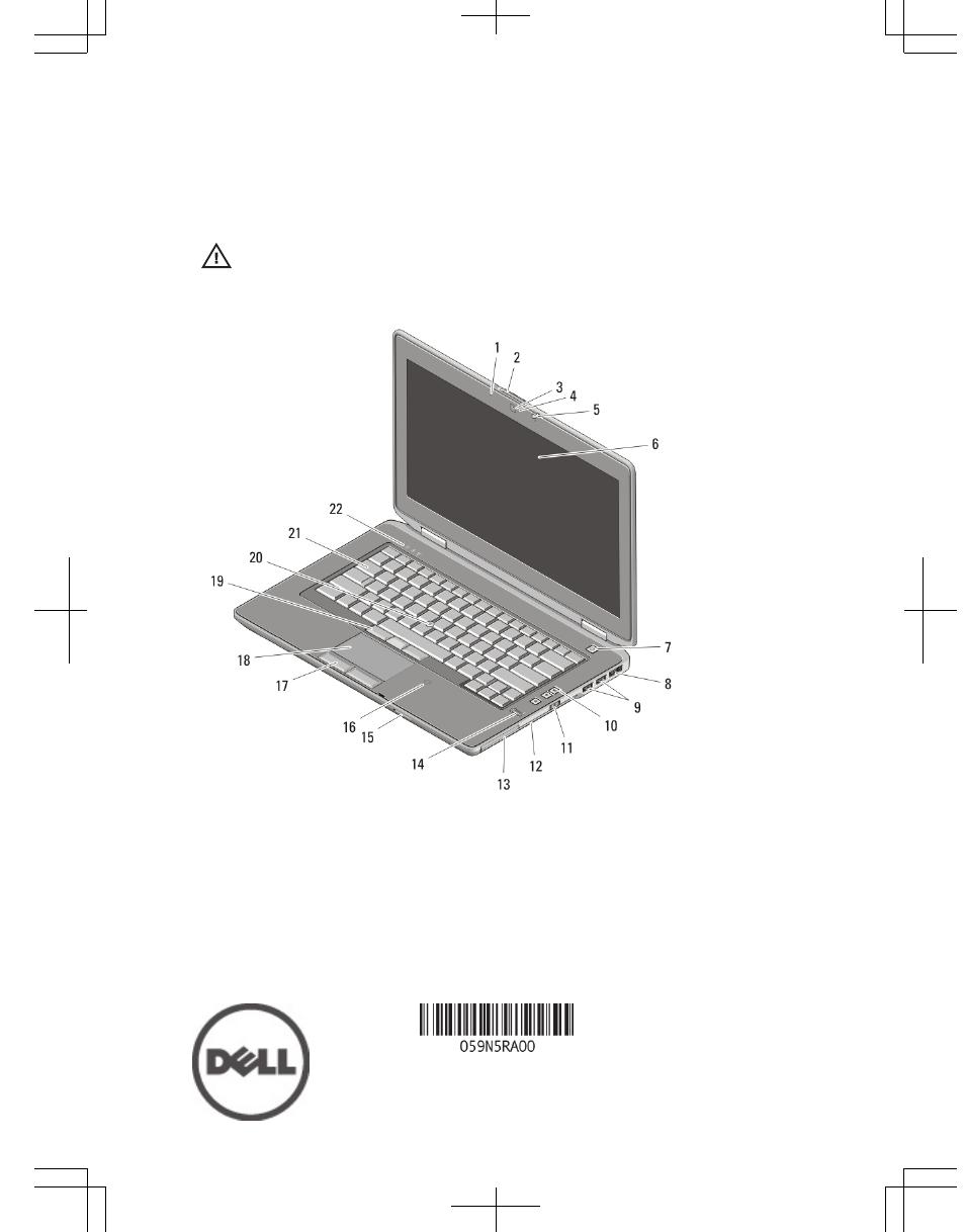Dell Latitude E6420 (Early 2011) Manuel d'utilisation