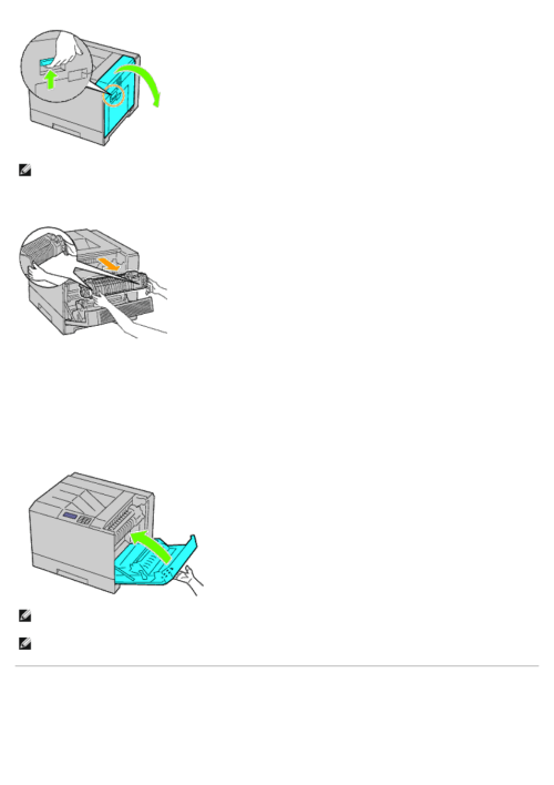 small resolution of replacing the separator rollers installing a fuser dell 5130cdn color laser printer manuel d utilisation page 330 412