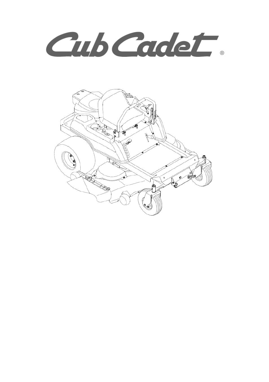 cub cadet service manual rzt 50