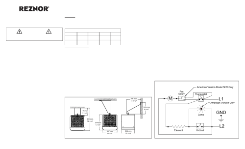 small resolution of reznor overhead heater electronic ignition wiring diagram