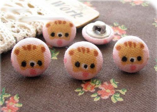 baby kitten buttons