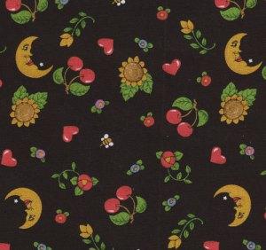 Cherry Moon Fabric