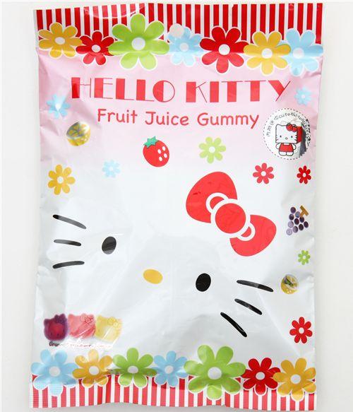 Hello Kitty fruit gummy