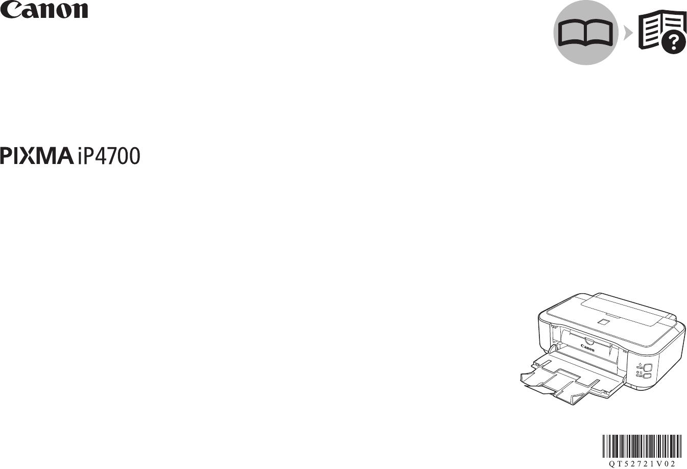 Mode d'emploi Canon Pixma iP4700 (26 des pages)