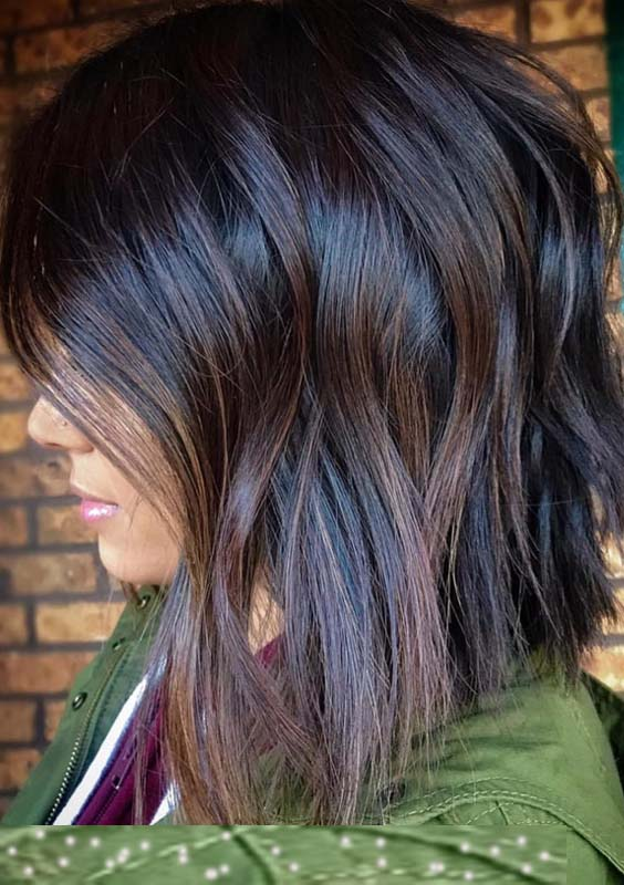 28 Charming Dark Brown Chocolate Hair Color Ideas For 2018