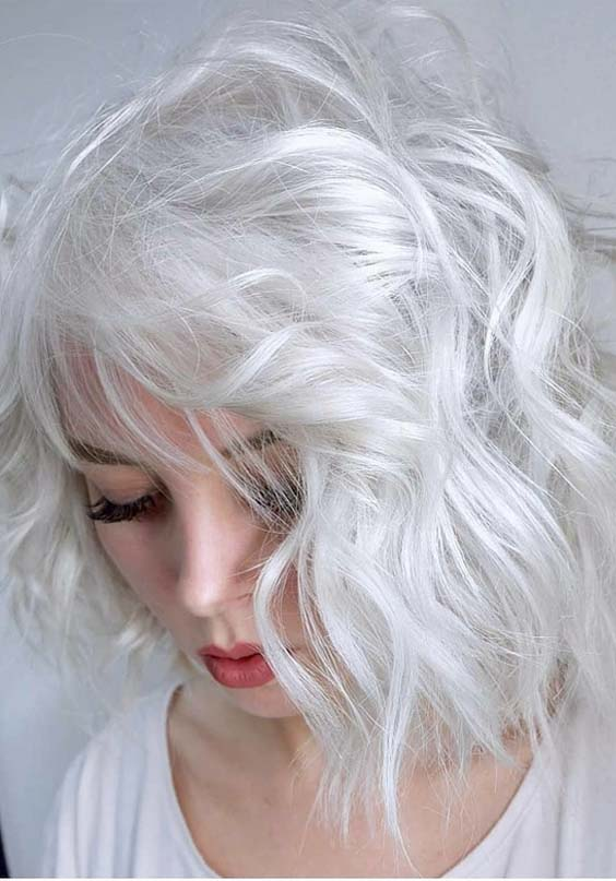 30 Popular Platinum Blonde Short Haircuts For 2018 Modeshack