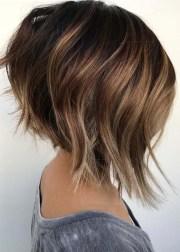 textured angled bob haircuts