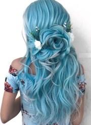 elegant blue bridal & wedding