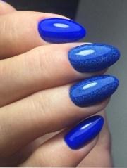 adorable blue nail art design
