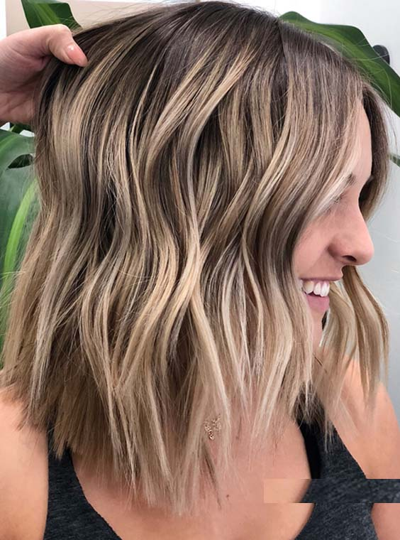 46 Awesome Balayage Highlights You Must Try In 2018