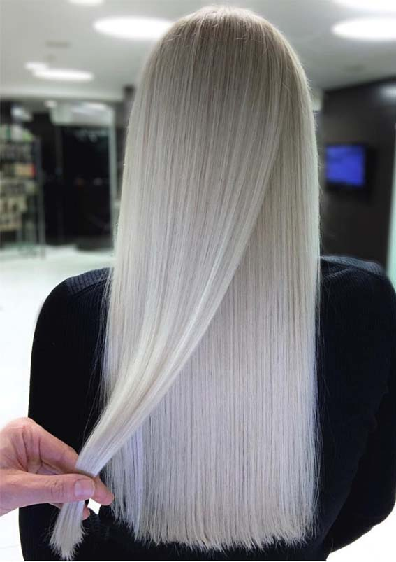 Flawless Pearl Blonde Hair Color Ideas to Show Off in 2019