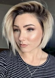 creative short blonde haircuts