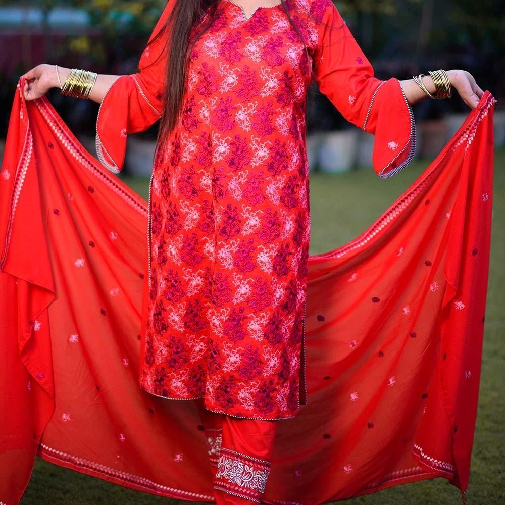 regal lawn pattern dress