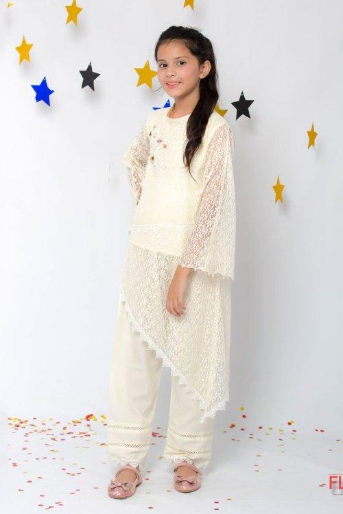 white net poncho dress