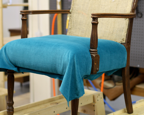 How to Upholster a Chair Part 2 The Seat  ModHomeEc
