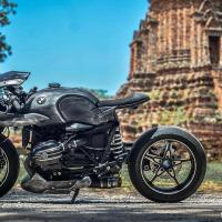 Custom BMW R NineT Racer 'Iron Racer Mark 1' from Thailand