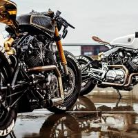 Custom Yamaha XV920 Cafe Racer | Moose Design