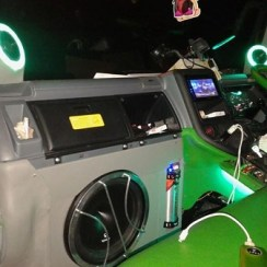 Modifikasi Truk Mitsubishi Canter Full Audio