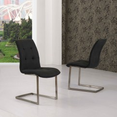 Suede Dining Table Chairs Extreme Gaming Chair Zanetti Effect Black Fabric Modish