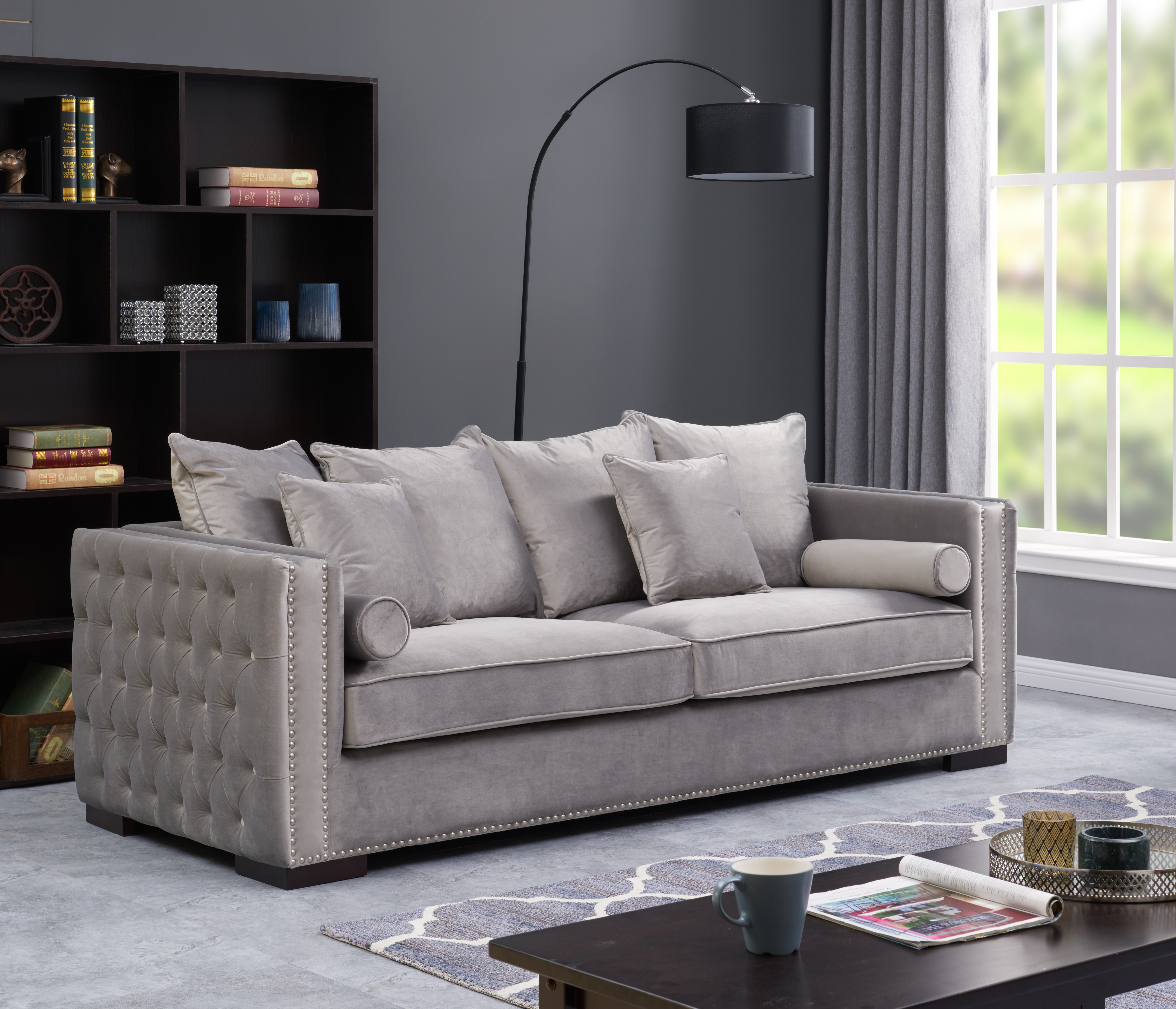 sofa shops glasgow city centre julius 6 piece leather power motion sectional modish furnishing furniture and flooring specialists chairs sofas