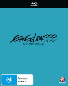 Evangelion3: 3.33 You Can (Not) Advance Blu-ray Cover Artwork