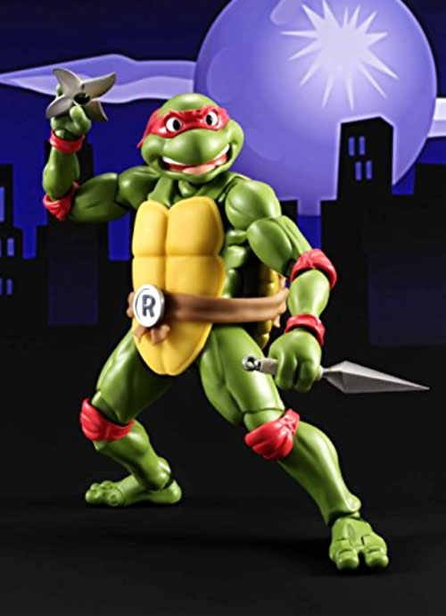 Bandai Tamashii Nations S.H. Figuarts Teenage Mutant Ninja Turtles Figures: Raphael