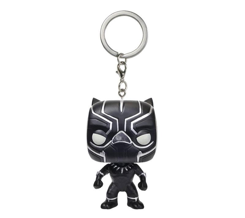 Funko POP Keychain: Captain America 3: Civil War Action Figure, Black Panther