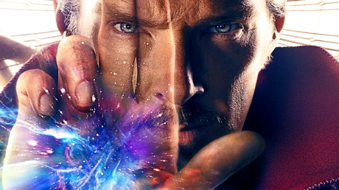 Benedict Cumberbatch in Marvel's DoctorStrange