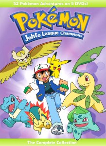 Pokemon Johto League Champions The Complete Collection DVD Cover Artwork